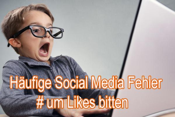 Häufige Social Media Fehler
