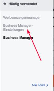 Personen zum Facebook-Businessmanager hinzufügen